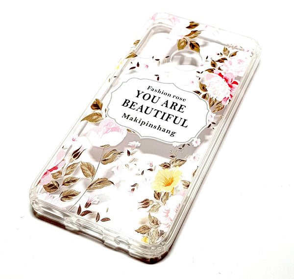 Huawei P Smart Z decorative clear transparent phone case you are beautiful