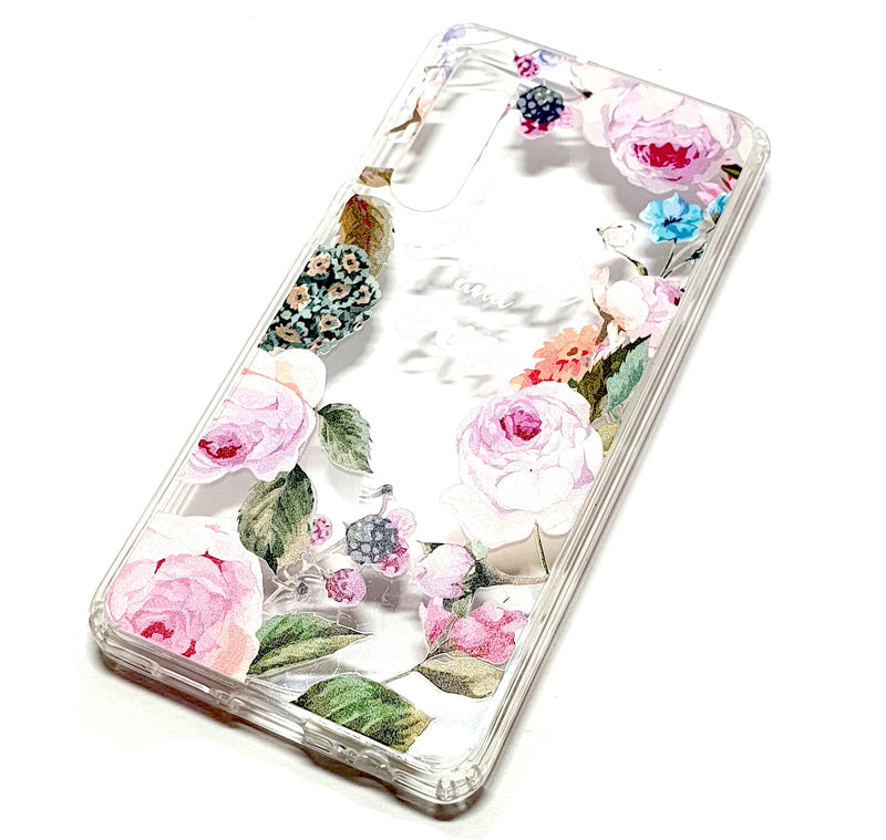 Huawei P30 decorative clear transparent phone case Paul & Eva