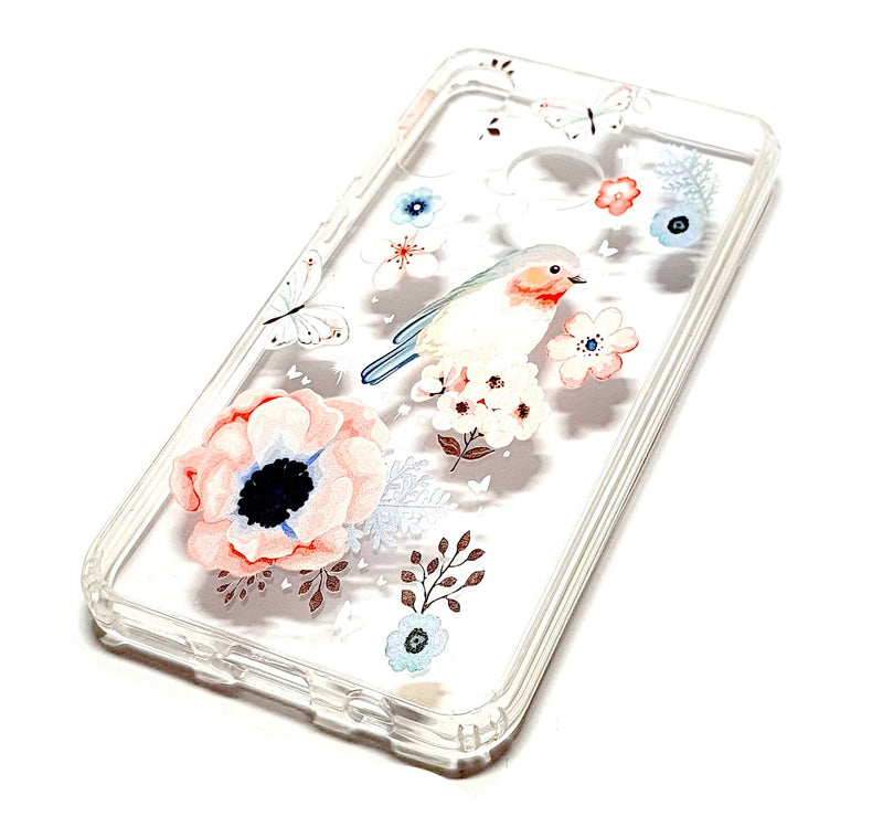 Huawei P30 Lite decorative clear transparent phone case robin