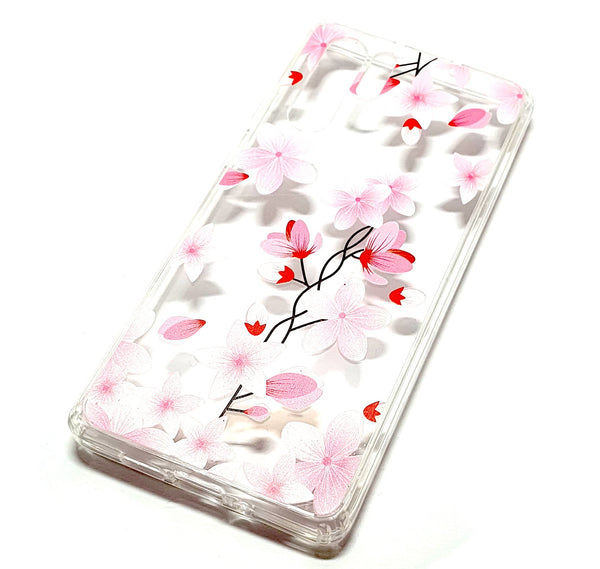 Huawei P30 Pro decorative clear transparent phone case flowers