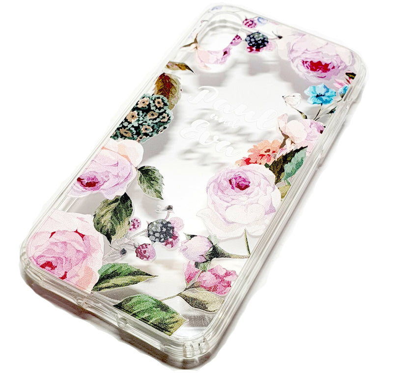 iPhone 11 decorative clear transparent phone case Paul & Eva