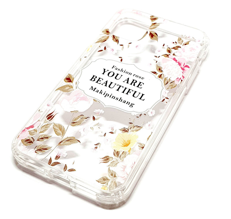 iPhone 11 decorative clear transparent phone case you are beautiful