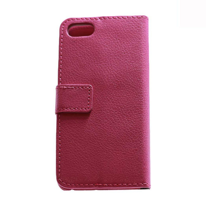 iphone 7 8 leather wallet pouch pink protective case