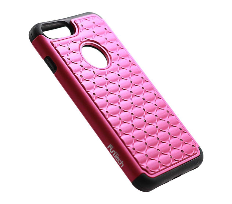 iphone 7 plus iphone 8 plus diamond shockproof protective pink