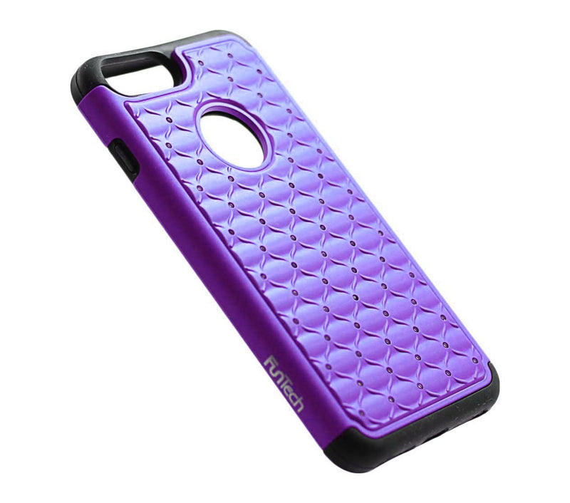 iphone 7 plus iphone 8 plus diamond shockproof protective purple