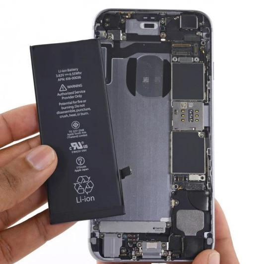 iPhone xs max Apple iPhone battery replacement