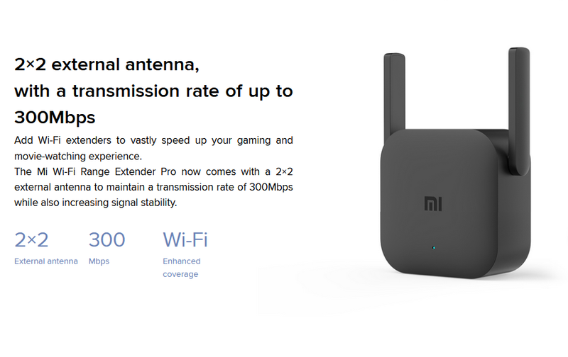 Mi WiFi Repeater Pro Black