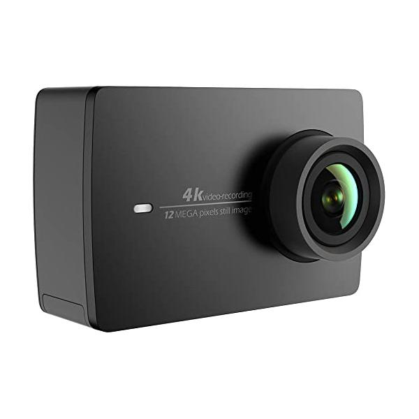 Mi YI 4K Action camera withselfie stick-Black