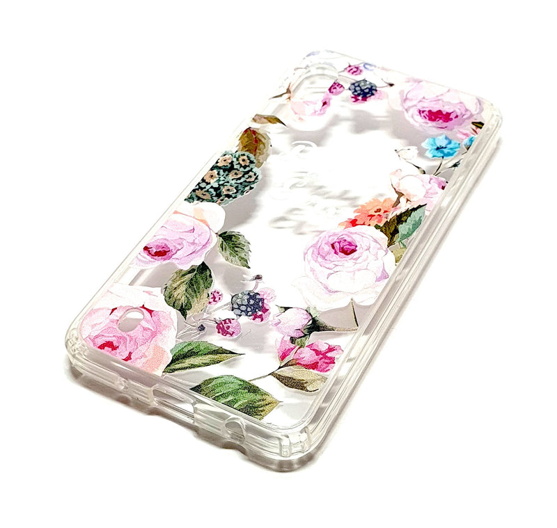 Samsung A10 decorative clear transparent phone case Paul & Eva
