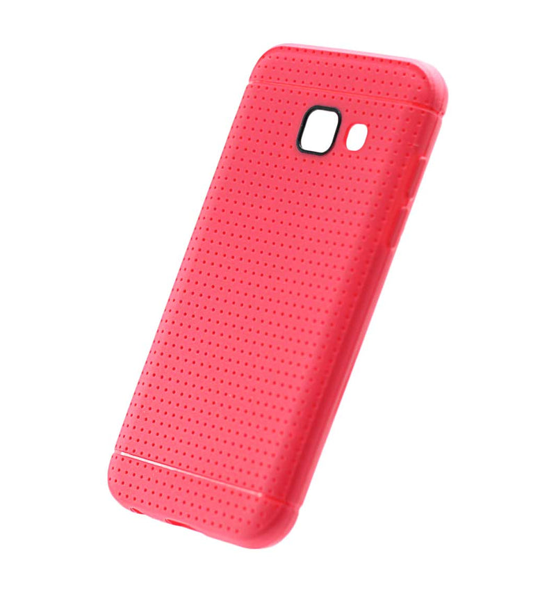Samsung A3 2017 Grid Gel Case Pink