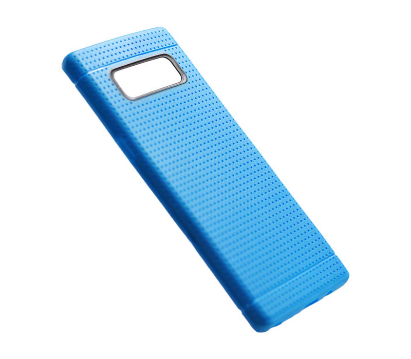 Samsung Note 8 Grid Case Blue