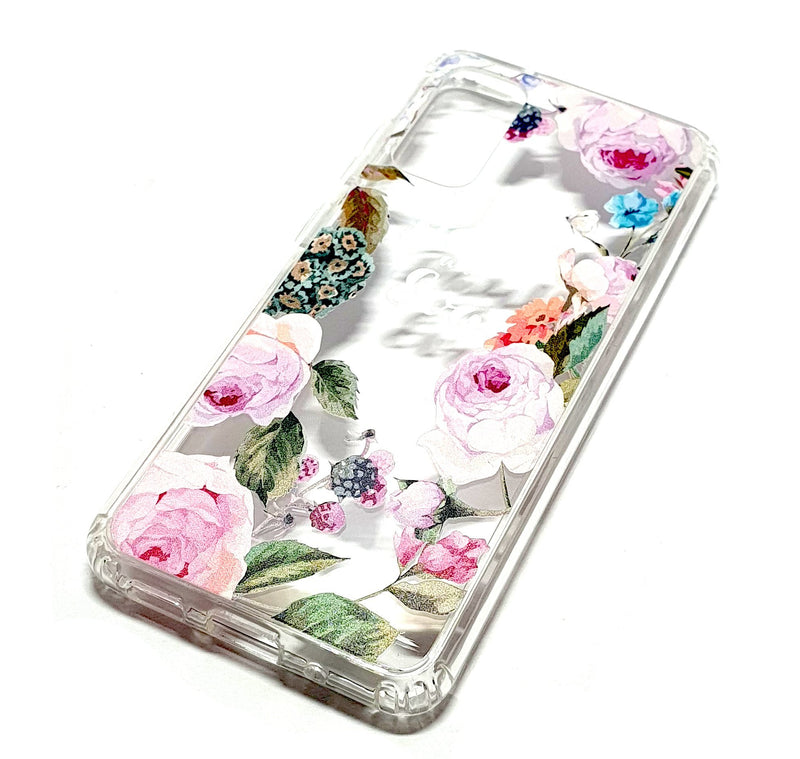 Samsung S20 decorative clear transparent phone case Paul & Eva