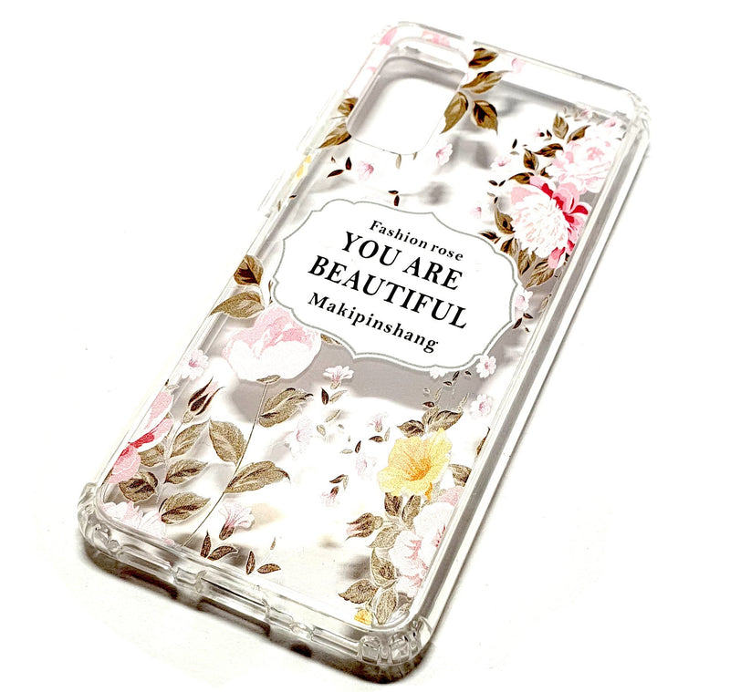 Samsung S20 decorative clear transparent phone case you are beautiful