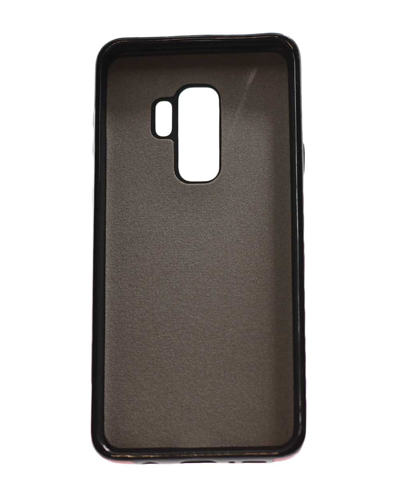 Samsung S9 Plus Leather Back Cover Black