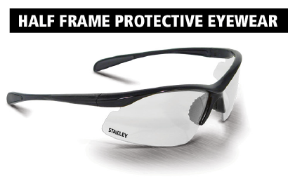 Stanley Half-Frame Protective Glasses  SY150-9D EU