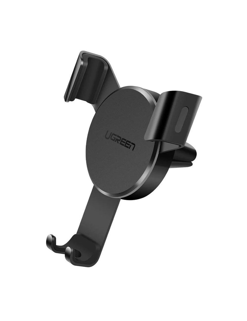 UGREEN Gravity Drive Air Vent Mount Phone Holder (Deep Black)