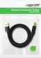 Ugreen USB 2.0 AM to BM print cable gold-plated 5M