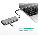 UGREEN USB C Hub, Aluminum 5 IN 1 Type C 4 USB Ports OTG Adapter USB C Splitter