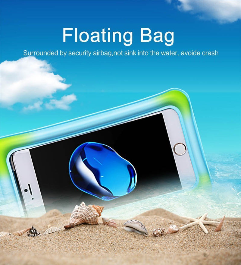 USAMS Universal Waterproof Case Pouch bubble float bag 6 inch