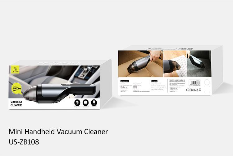 USAMS US-ZB108 Mini Handheld Wireless Vacuum Cleaner
