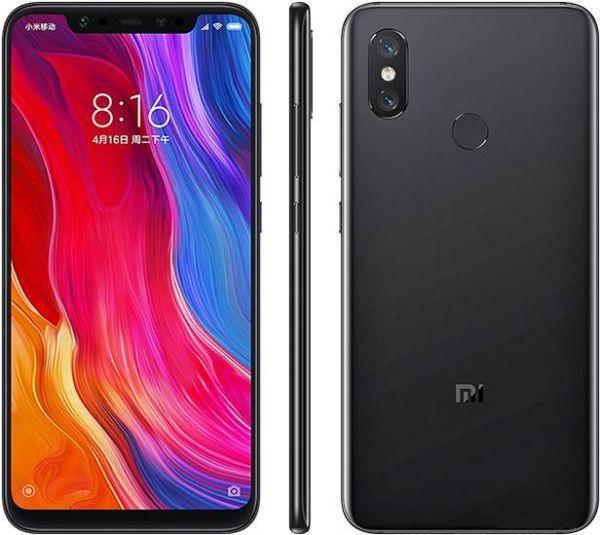 Xiaomi Mi 8 64GB + 6GB RAM Black sim free unlocked smart phone