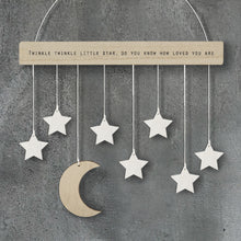 Load image into Gallery viewer, Moon & Stars Wooden Hanger