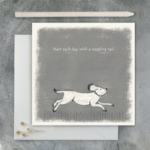 Greetings Card | Wagging Tail