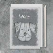 Load image into Gallery viewer, Greetings Card | Woof