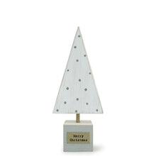 Load image into Gallery viewer, Mini Wooden Christmas Tree | White