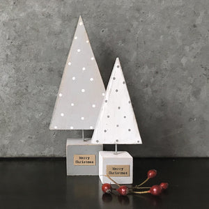 Wooden Christmas Tree | Grey