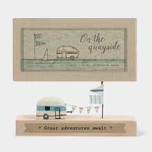 Load image into Gallery viewer, Tiny Wooden Caravan Scene