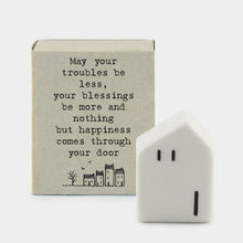 Load image into Gallery viewer, Mini Matchbox House | Happiness