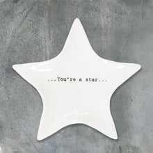 Load image into Gallery viewer, Little Porcelain Star Trinket Dish | You're A Star