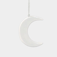 Load image into Gallery viewer, Mini Hanging Porcelain Moon