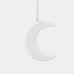 Mini Hanging Porcelain Moon
