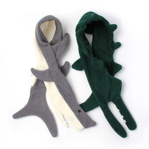 Children's Scarf | Crocodile Or Shark