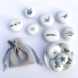 Porcelain Pebble | Swallow