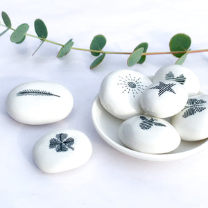 Porcelain Pebble | Good Luck