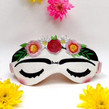 Load image into Gallery viewer, Frida Kahlo Eye Mask