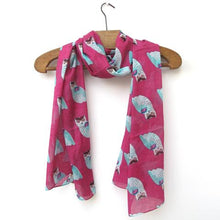 Load image into Gallery viewer, Owl Print Scarf