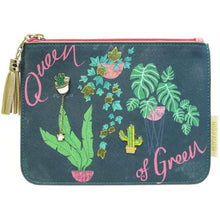 Load image into Gallery viewer, Cosmetic Bag | Queen Of Green