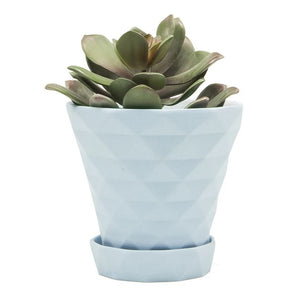 Diamond Sky Blue Planter
