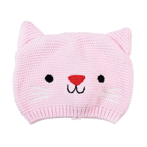 Pink Baby Hat | Cookie The Cat