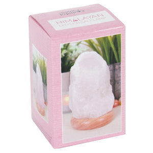Mini Colour Changing White Salt Lamp