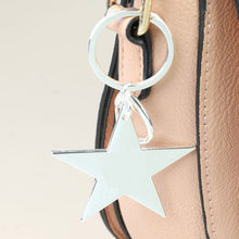 Load image into Gallery viewer, Silver Star Keyring