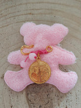 Load image into Gallery viewer, Byzantine coin cross baby girl pin