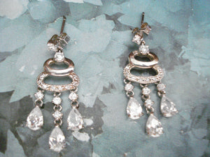 Bridal chandeliers, Sterling silver 925