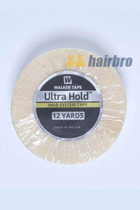"Walker Ultra White Double Side Hold 3/4""X12 Yard Tape Roll For Hair Systems"