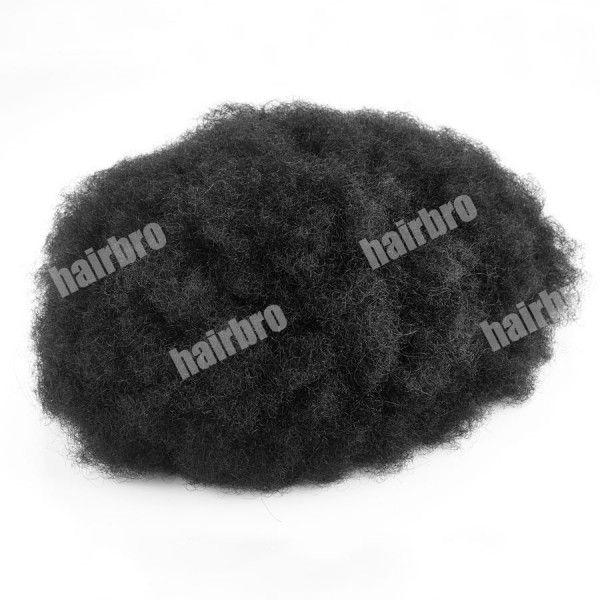 Load image into Gallery viewer, French Lace Base Afro Wave Stock Men Hair Replacement