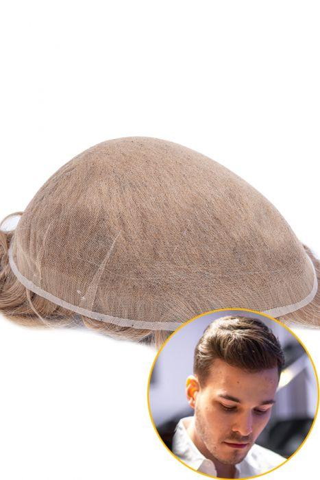 All Swiss Lace Hair Replacement System For Men